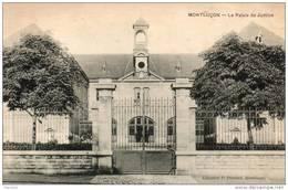 03. Montluçon. Le Palais De Justice - Montlucon