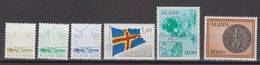 Aland 1984 Definitives 6v ** Mnh (43357F) - Aland