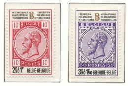 NB - [150998]SUP//**/Mnh-[1629/30] Belgique 1972, Léopold II, BELGICA 72, Exposition Philatélique Au Heysel, SNC - Exposiciones Filatélicas