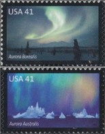 U.S. 4315-4316 (complete Issue) Unmounted Mint / Never Hinged 2007 Polarlicht - Unused Stamps