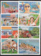 Olympia 1984: Togo  8 Bl **, M. A. - Estate 1984: Los Angeles