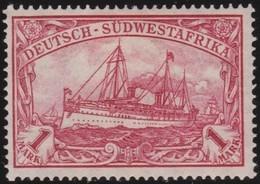 Deutsch SudWest-Afrika  .   Michel  29B  ( 2 Scans )  .  *   .  Ungebraucht Mit Gummi Und Falz  .  / .   Mint-hinged - Kolonie: Deutsch-Südwestafrika