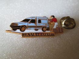 PIN'S   RENAULT  EXPRESS  Bleu  Arthus Bertrand - Renault