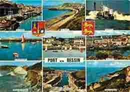 14 - Port En Bessin - Multivues - Voir Scans Recto-Verso - Francia