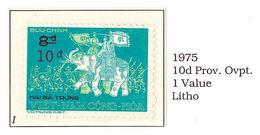 South Viet Nam - 1975 - Un-issued Stamps - Hai Ba Trung 10d - MNH - RARE - Viêt-Nam