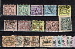 Lot Vatican Timbres à Identifier - Collections (sans Albums)