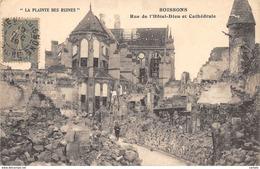 02-SOISSONS-BOMBARDEMENT-N°436-F/0003 - Soissons