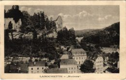 CPA AK Larochette Ruines LUXEMBURG (803893) - Larochette