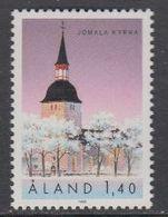 Aland 1988 Church Jomala 1v ** Mnh (43357K) - Aland