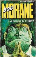 Bob Morane - Pocket Marabout N°129 - Le Masque Du Crapaud - Henri Vernes - 1975 EM/BE - Adventure