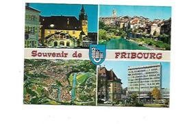 SOUVENIR DE FRIBOURG CARTE MULTIVUES - FR Fribourg