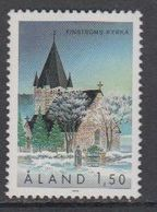 Aland 1989 Church Finström 1v ** Mnh (43357M) - Aland