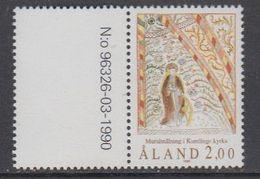 Aland 1990 Fresco 1v (+margin) ** Mnh (43357N) - Aland
