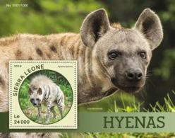 Sierra Leone   2016  Fauna   Hyenas - Sierra Leone (1961-...)