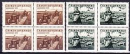 ** Tchécoslovaquie 1951 Mi 655-6 (Yv 568-9), (MNH) - Tschechoslowakei/CSSR