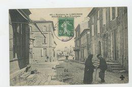 CPA - 33 - ENVIRON DE LIBOURNE BRANNE - RUE PRINCIPALE - - Libourne