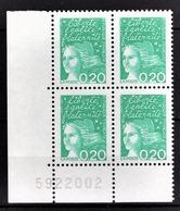 FRANCE  1997 - BLOC DE 4 TP / Y.T. N° 3087 - NEUFS** COIN DE FEUILLE - France