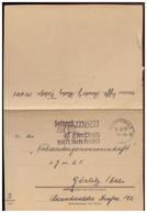 Dt- Reich (008419) Feldpostfaltbrief Luftwaffe FPNR 34641, Gelaufen Am 6.12.1939 Mit WHW Werbestempel Von Greifswald - Briefe U. Dokumente