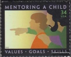 U.S. 3515 (complete Issue) Unmounted Mint / Never Hinged 2002 Kindererziehung - Vereinigte Staaten