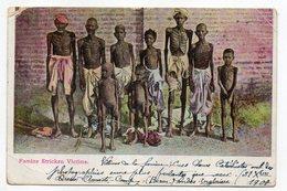 Inde --1908--Famine Stricken Victims  --  Timbre  -- Cachet ....... à Saisir - Inde