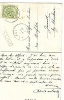 N°83 Càd Hasselt 1910+GFF EELEN Encadrée Jumet - Griffes Linéaires