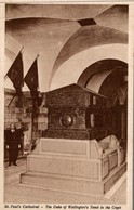 ST PAUL'S CATHEDRAL - THE DUKE OF WELLINGTON'S TOMB IN THE CRYPT - St. Paul's Cathedral