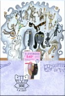 CM 503 Slovakia Biennial Of Illustrations Bratislava 2011 BIB - Raubkatzen