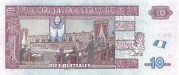 GUATEMALA P. 123Ac 10 Q 2016 UNC - Guatemala