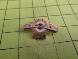 613e Pin's Pins / Beau Et Rare / THEME : TGV / POLICE BRIGADE DE SURVEILLANCE CHEMINS DE FER BSCF 1989-1991 - Police