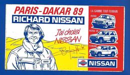 A.C J. LAFFITE J'ai Choisi NISSAN Paris-Dakar 89 - Autocollants