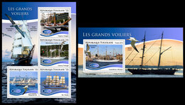 TOGO 2019 - Tall Ships, M/S + S/S. Official Issue - Togo (1960-...)