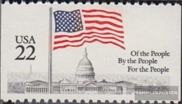 U.S. 1739C Unmounted Mint / Never Hinged 1985 Flags - Estados Unidos