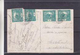 Tchècoslovaquie - Carte Postale De 1919  ? - Oblit Horni Brusnice - - Tchécoslovaquie