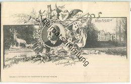 Friedrichsruh - Schloss - Sterbehaus Des Fürsten - Grabstätte Bismarck - Verlag Knackstedt & Näther Hamburg Ca. 1900 - Friedrichsruh