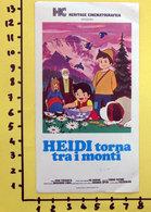 HEIDI TORNA TRA I MONTI CINEADESIVO STICKER VINTAGE NEW ORIGINAL - Cinema Advertisement