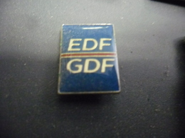 Pin's EDF GDF @ 18 Mm X 13 Mm - EDF GDF