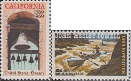Stati Uniti 983,984 (completa Edizione) MNH 1969 Colonizzazione Di California, Expedit - United States