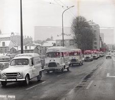 87- LIMOGES- PONT NEUF- DEFILE BOULANGERIE DE LA VALOINE- BOULANGER - RARE PHOTO ORIGINALE ELECTRONIC PHOTO - Lugares
