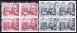 ** Tchécoslovaquie 1952 Mi 703-4 (Yv 612-3), (MNH) - Tschechoslowakei/CSSR