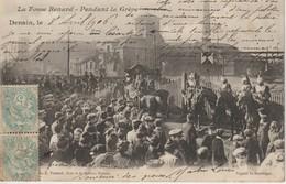 59 DENAIN 1906 La Fosse Renard Pendant La Grève Des Mineurs Très Animée Soldats ? Gendarmes  Mineurs - Denain