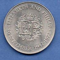 Grande Bretagne  --  25 New Pence 1972 -  Km # 917 -  état  TTB+ - 1971-… : Monedas Decimales