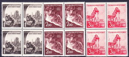 ** Tchécoslovaquie 1952 Mi 709-11 (Yv 618-20), (MNH) - Tschechoslowakei/CSSR