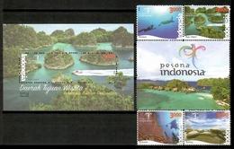 Indonesia 2016 / Tourism Landscapes Nature MNH Turismo Paisajes Naturaleza / Cu14010  4 (18) - Vacaciones & Turismo