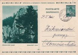 BOHEME ET MORAVIE 1942   ENTIER POSTAL/GANZSACHE/POSTAL STATIONERY CARTE ILLUSTREE DE SEELOWITZ - Bohême & Moravie