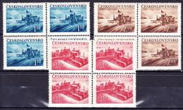 ** Tchécoslovaquie 1952 Mi 724-6 (Yv 633-5), (MNH) - Tschechoslowakei/CSSR