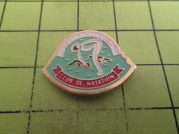 713e Pin's Pins / Beau Et Rare : THEME SPORTS / NATATION CLUB PONT A MOUSSON De Canard ? - Swimming
