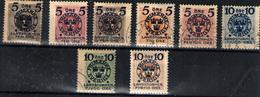 Suecia Nº 87/92, 94/5. Año 1916 - Neufs