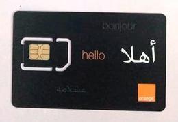 Carte SIM Orange Neuve - Tunisia