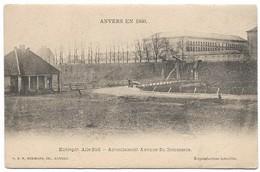 CPA PK  ANVERS EN 1860  ENTREPOT AILE SUD   ACTUELLEMENT AVENUE DU COMMERCE - België
