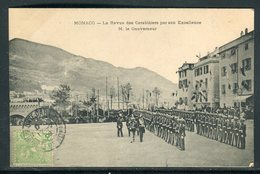 Monaco - Carte Postale - La Revue Des Carabiniers Par Son Excellence M. Le Gouverneur -  Réf JJ 4 - Autres
